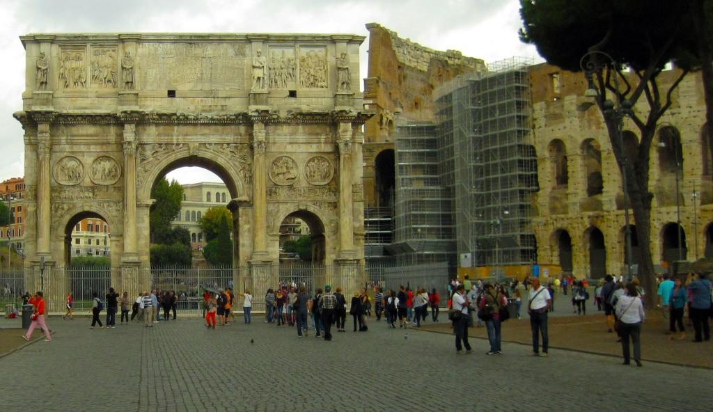 Koloseum i Łuk Triumfalny
